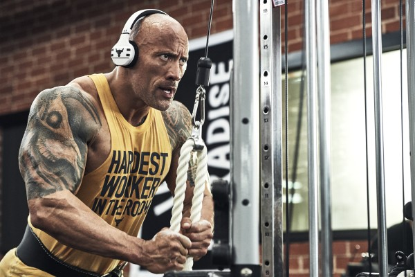 THE ROCK ARM WORKOUT